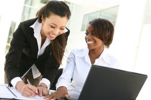 Diverse Women Business Team